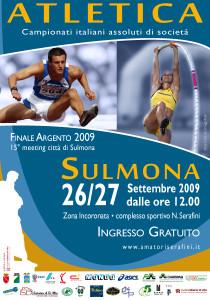Finale Argento Campionati di Società @ Sulmona (AQ)